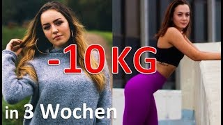 10 KG in 3 Wochen abnehmen 😮 OHNE SPORT & OHNE HUNGERN!