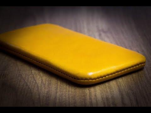 Чехол из кожи для IPhone своими руками