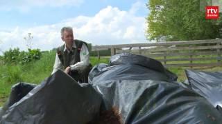 150 zakken met hennepafval gedumpt in natuurgebied bij Deurze