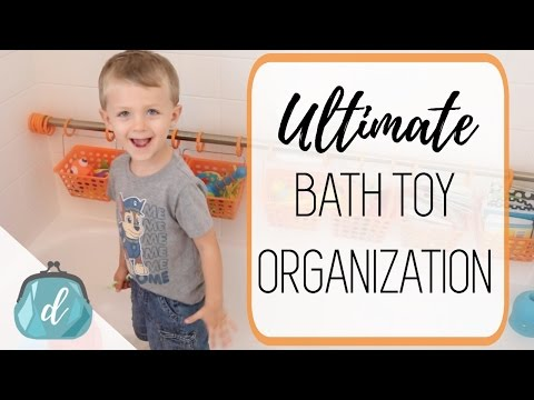 Organize Bath Toys! 💦 Dollar Tree