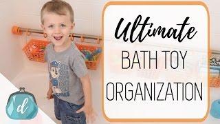 Organize Bath Toys!