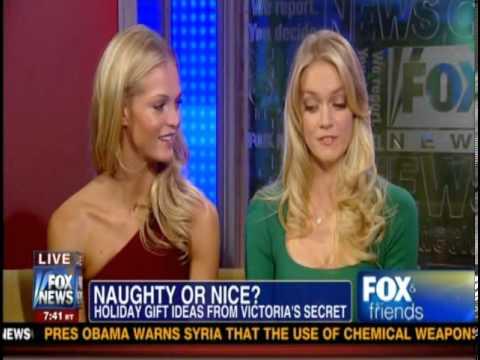Erin Heatherton and Lindsay Ellingson on Fox & Friends