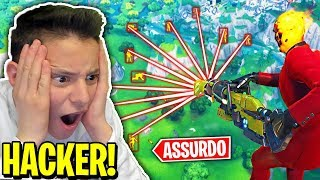 GAME in TEAM with a HACKER!! 😱LOOK what's SUCCESSO! - Fortnite ITA