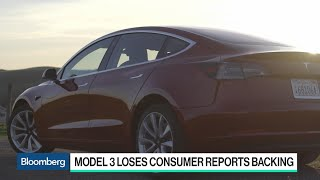 Tesla's Model 3 Loses Consumer Reports Recommendation