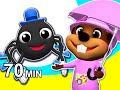 itsy Bitsy Spider, Incy Wincy Spider & More   Popular Nursery Rhymes Compilation By Busy Beavers video