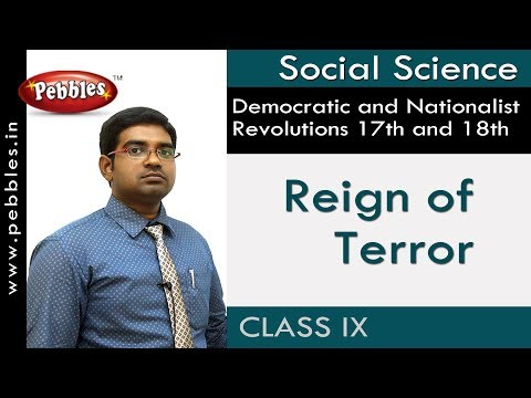 Reign of Terror : Nationalist Revolutions 17th and 18th | Social | AP&TS Syllabus | Class 9