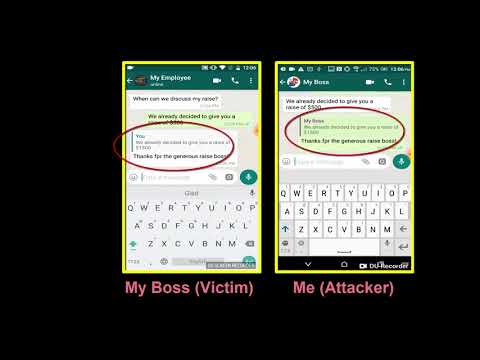 WhatsApp hacking trick manipulates messages in group chats