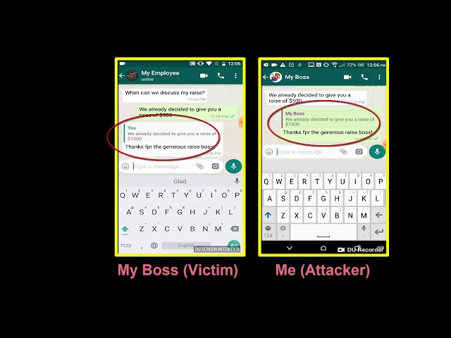WhatsApp hacking trick manipulates messages in group chats | The