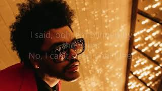 The weeknd - blinding lights (lyrics ...