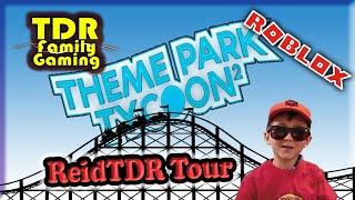 Themenpark Tycoon 2 - Reid TDR Park Tour - Roblox