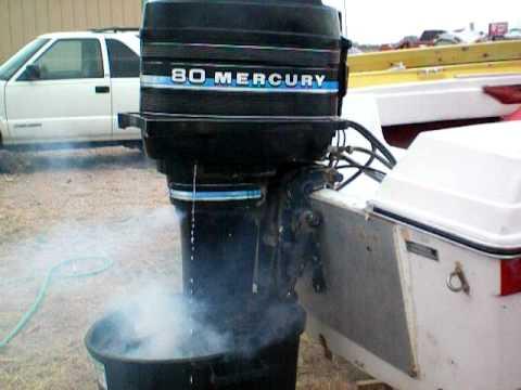 1980 Mercury 80HP  YouTube