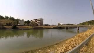 種子島のお散歩情報:鴨女橋から天神橋まで歩き撮り GoPro HERO3+ FEIYU G4手持ちジンバル