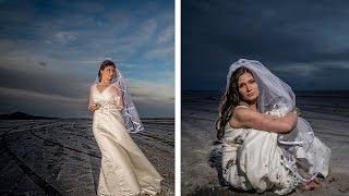 How To Trash the Dress & Shoot Bridal Portraits at the Bonneville Salt Flats with Jason Lanier
