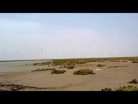 Fishing Spot around Karachi Pakistan (Near Gharo wind plant)