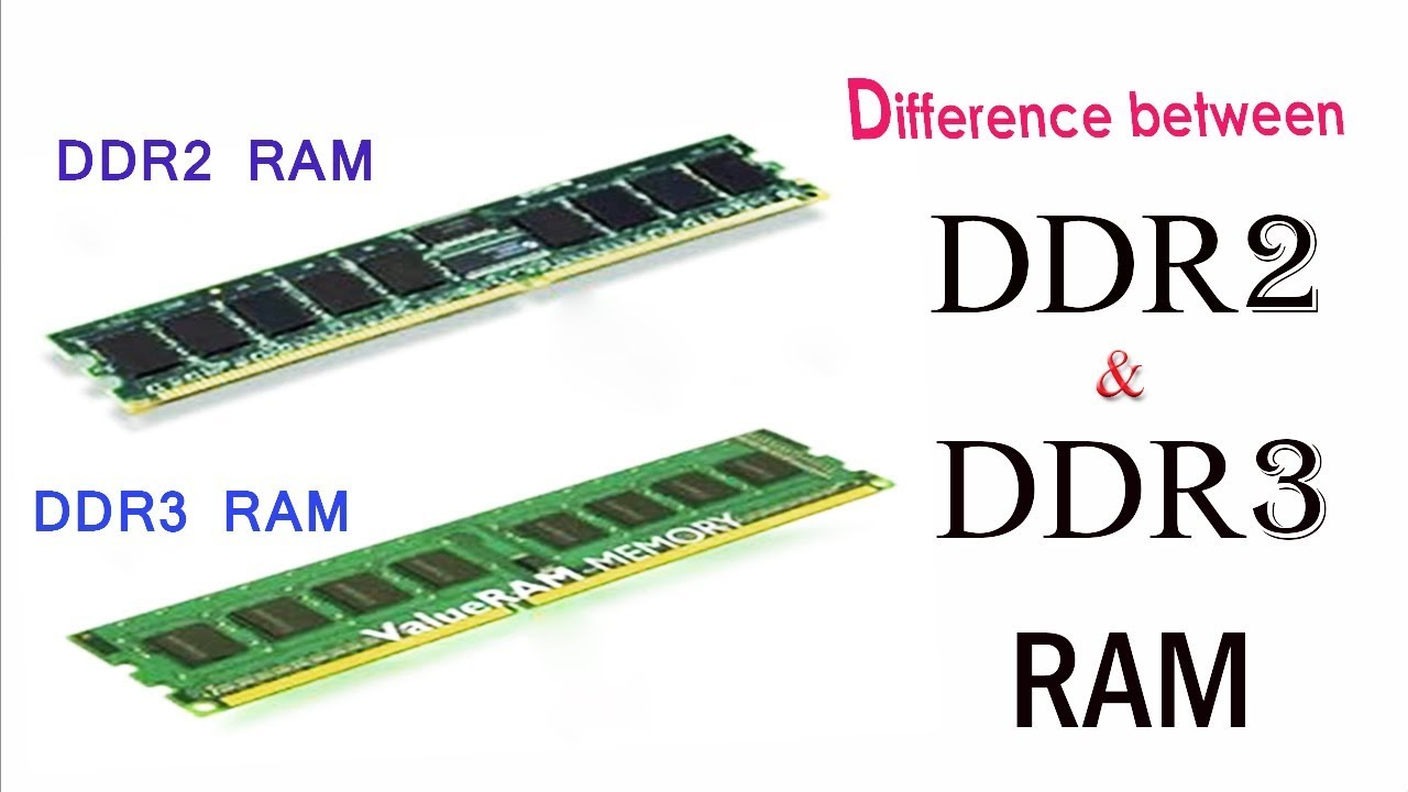 Difference Between Ddr2 Vs Ddr3 Ram Explained In Detail 2018 Youtube