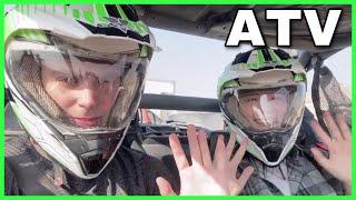 [국제커플] 라스베가스 ATV 사막 활보하기!!4X4 …