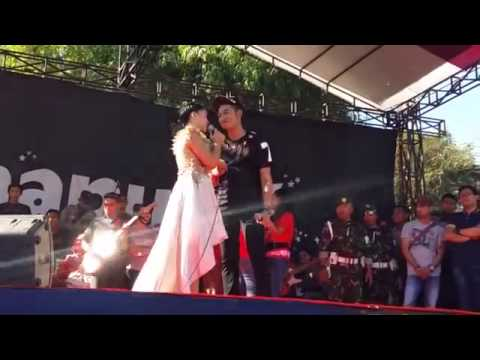Mantap Irwan ft. Lesti Dangdut Academy duet pertemuan dikonser akbardi madura