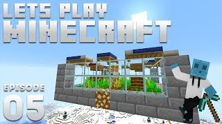 iJevin Plays Minecraft - Ep. 5: VILLAGER BREEDER! (1.14 Minecraft Let's Play)