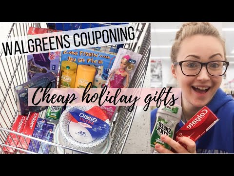WALGREENS COUPON DEALS (12/8-12/14) Cheap Holiday Gifts & Free Toothpaste!