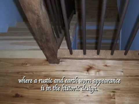 Antique Hardwood and Softwood Custom Flooring