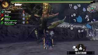 Monster Hunter 4G - G Rank Quests 9: Desert Seltas Queen [モンスターハンター4G]