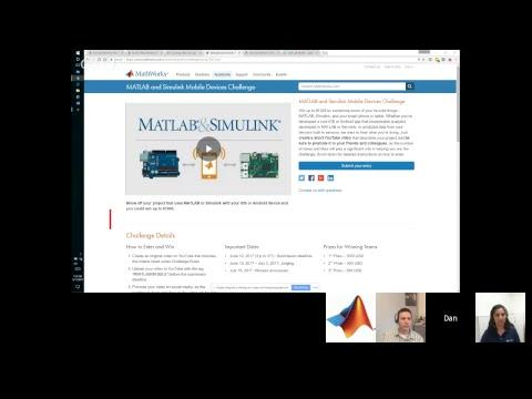 MATLAB & Simulink Mobile Challenge