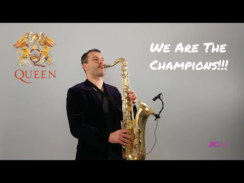 We Are The Champions (Queen) - Saxophone & Piano Cover By JK Sax