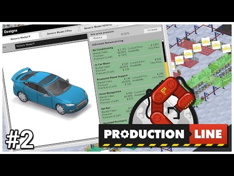 Production Line [Early Access] - #2 - Premium Model - Let's Play / Gameplay / Construction