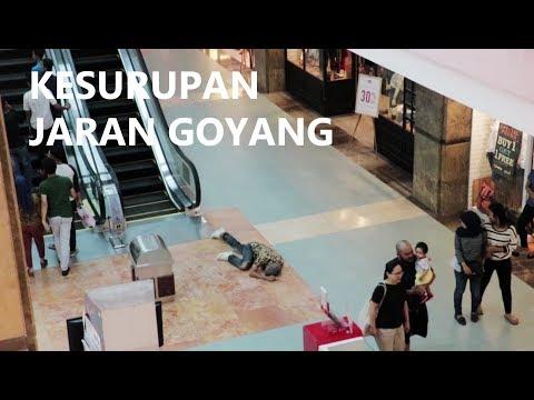 KESURUPAN JARAN GOYANG DI TEMPAT UMUM | PRANK INDONESIA
