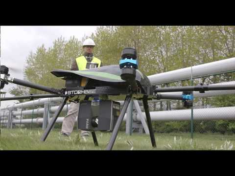 FARO Laser Scanner Focus 3D X130 Application Video: Think 3D drone STORMBEE