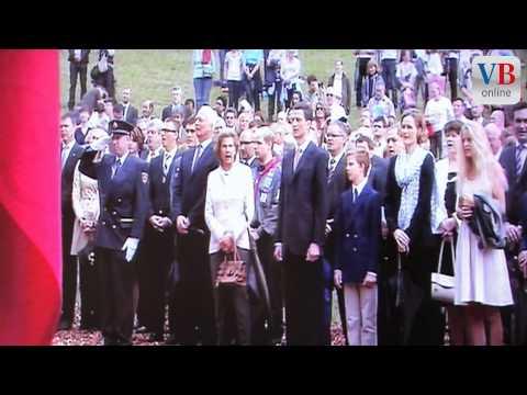 Nationalhymne Liechtensteins am Staatsfeiertag