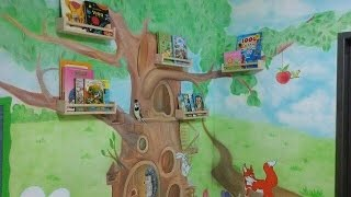 Художественная роспись стен(Это видео создано в редакторе слайд-шоу YouTube: http://www.youtube.com/upload., 2016-06-25T00:13:31.000Z)