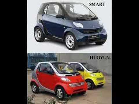 Fake Chinese Car Brands