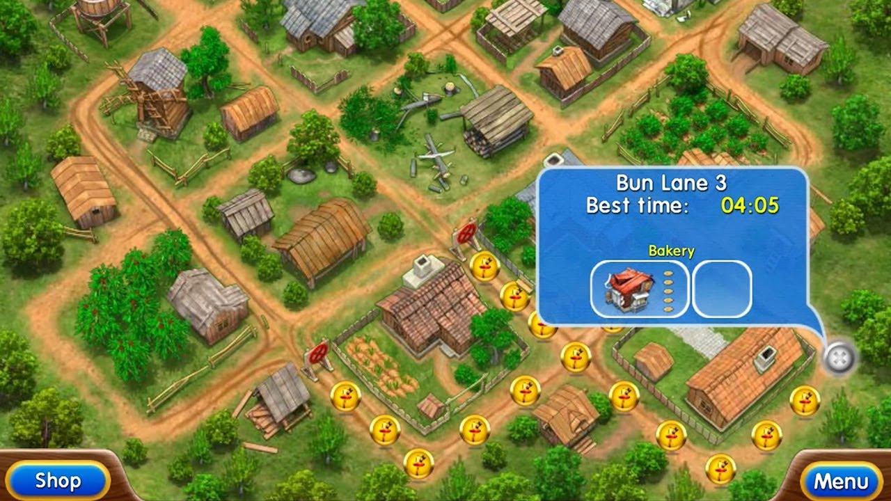 Farm Frenzy 2 | PC | Level 17 | Bun Lane 3 - YouTube