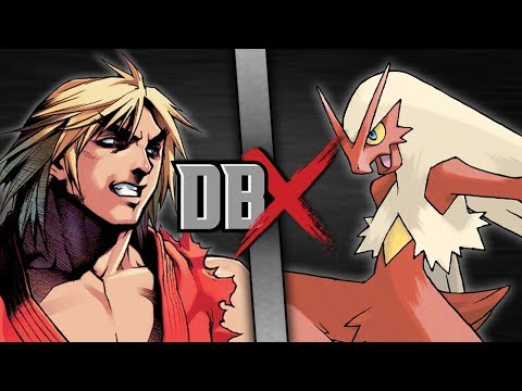 Ken VS Blaziken (Street Fighter VS Pokémon) | DBX