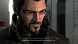 Deus Ex: Mankind Divided - The Heist: Versalife Vault Cutscene Janus, Datarod, Bob & Megan GARM
