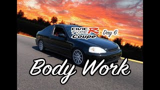 Bodywork Honda Civic Type R Coupe Project