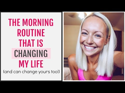 The Morning Routine That Is Changing My Life | The Miracle Morning
