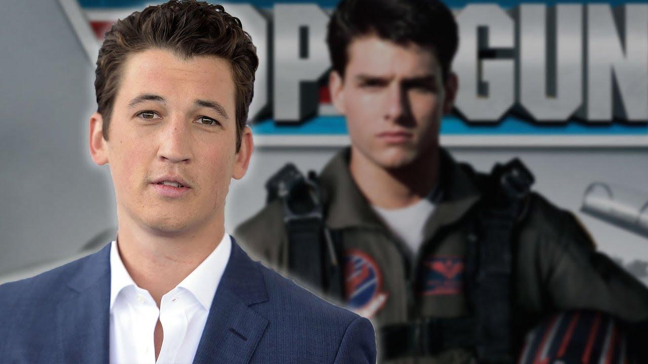 Miles Teller Joins Top Gun 2 As The Son Of Goose - YouTube