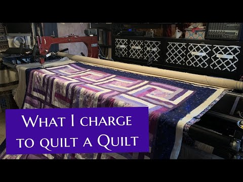 How Much Money I Make Quilting A Clients Quilt