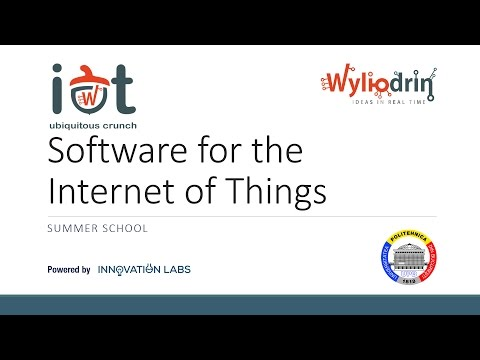 Lecture 3: Software for the Internet of Things