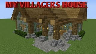 MY VILLAGERS HOUSE IS READY {MINCRAFT PART- 39}