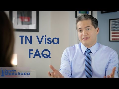 TN Visa Frequently Asked Questions, USA 2020
