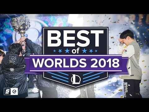 Best of Worlds 2018 (Individual Outplays, Teamfights and Emotional Moments)