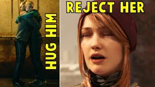 Markus Rejects North and Hugs Simon - Every Single Choice - Detroit Become Human