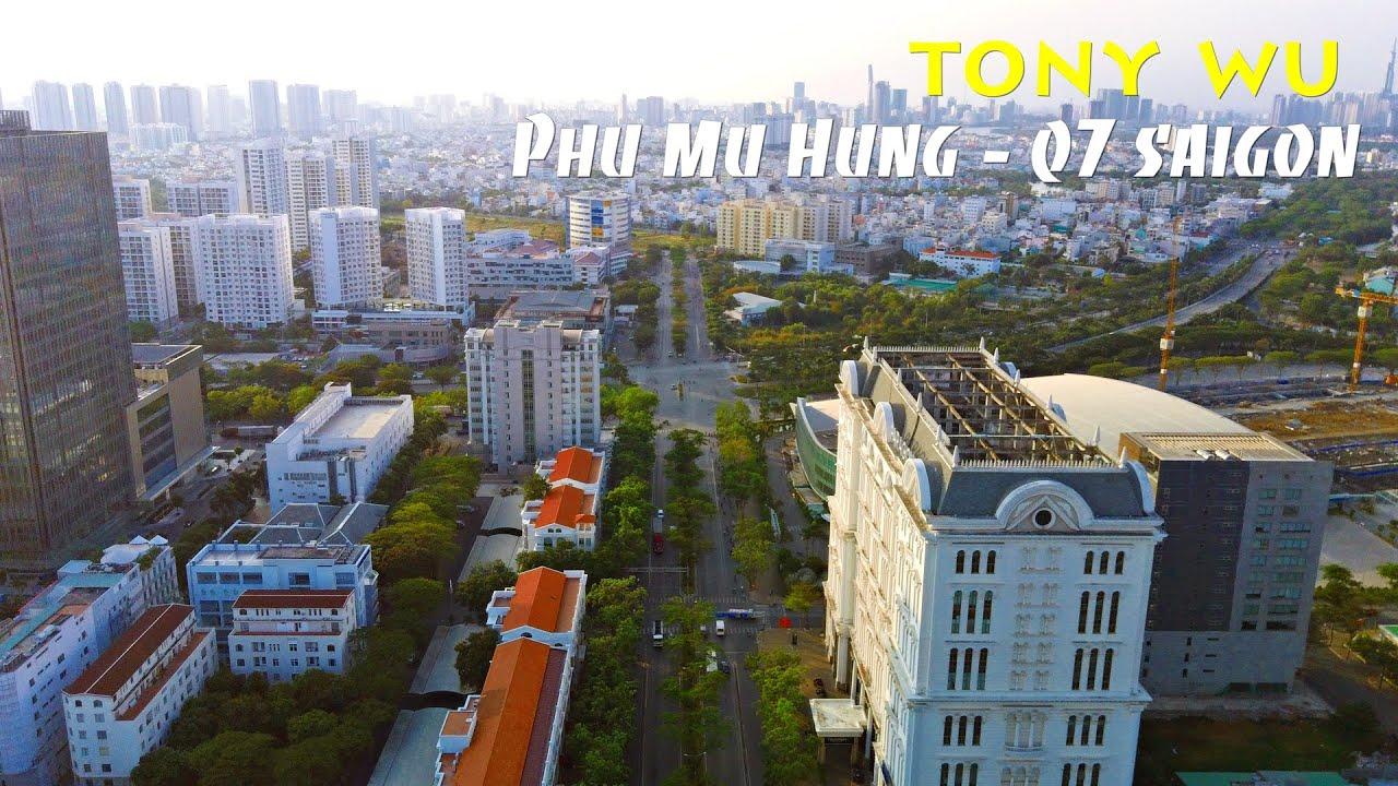 Khu đô thị Nam Sài Gòn – Phú Mỹ Hưng qua góc nhìn flycam (toàn cảnh full HD)
