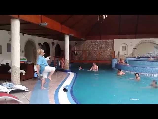 Vízi torna a Kék Duna Wellness Hotelben****