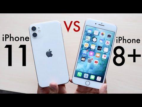 IPhone 11 Vs IPhone 8 Plus! (Comparison) (Review)