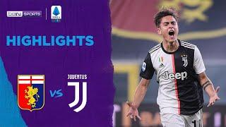 Genoa 1-3 Juventus | Serie A 19/20 Match Highlights