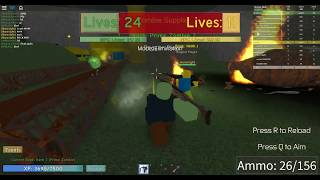 Play [ALPHA] Noobs vs Zombies: Realish ROBLOX With GodrifeX TH